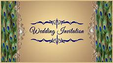 Invitation Front Page Design How To Design A Wedding Invitation Card Front Page In