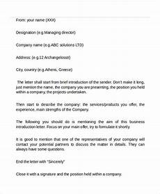 Introduction Email Sample Free 16 Professional Email Examples In Pdf Doc Examples