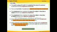Type Of Forms Types Of Verbs Youtube