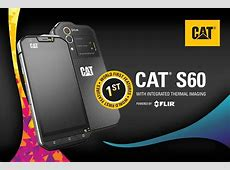 Cat S60: World's first built in thermal smartphone camera