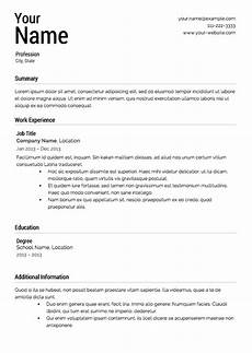 How Your Resume Should Look What Should A Resume Look Like