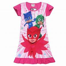 pj masks dresses 3 8 years cotton sleeve