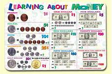 Learning Money Chart Painless Learning Placemats