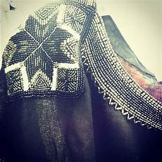 the beadwork on the neckline of this joie a la plage