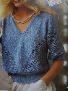 knitting summer vintage 3 4 sleeve filigree summer sweater top
