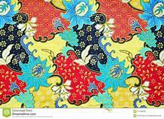 Southeast Asian Designs Colorful Southeast Asian Style Batik Fabric Texture