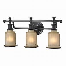 Oil Rubbed Bronze Bath Light Fixtures Elk 52012 3 Acadia Oil Rubbed Bronze 3 Light Bath Lighting