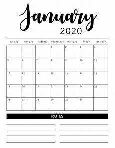 2020 17 Blank Calendar Blank Monthly Calendar Printable Free