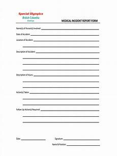 Eiu Incident Report Free 7 Medical Report Forms In Pdf Ms Word