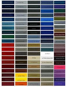 Green Car Paint Color Chart Omni Paint Colors Png 1275 215 1650 Car Paint Colors Car