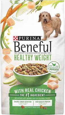Beneful Puppy Food Chart Purina Beneful Healthy Weight With Real Chicken Dry Dog