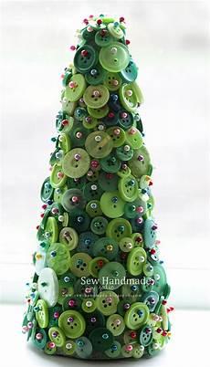 sew handmade button tree