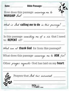 Prayer Template Is Bible Reading Just A Check On Your To Do List Path