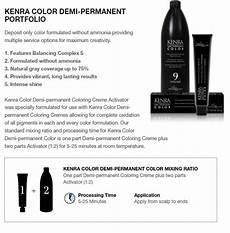 Kenra Color Chart Kenra Demi Permanent Color Confessions Of A