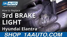 Hyundai Elantra Light Removal How To Replace 3rd Brake Light 07 10 Hyundai Elantra Youtube
