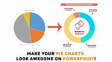 Drawing Pie Charts Ppt Powerpoint Tutorial Make Your Pie Charts Look Awesome