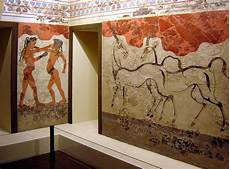 wall paintings of thera