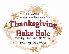 Thanksgiving Bake Sale Thanksgiving Bake Sale At Mmh Friday The Bluffton Icon