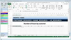 How To Create A Work Schedule On Excel Create Excel Schedule Templates From The Planning Software