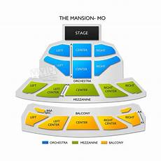 The Mansion Branson Seating Chart The Mansion Mo Seating Chart Vivid Seats