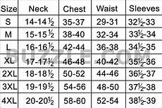 Shirt Size Chart Complete Men S Shirt Size Chart And Sizing Guide All Guys