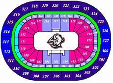 Sabres Virtual Seating Chart The Hsbc Arena Home Of The Buffalo Sabres