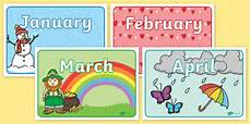 Printable Month Months Of The Year Display Posters Teacher Made
