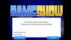 Game Show Template Introduction To The Powerpoint Gameshow Template Youtube