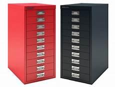 10 drawer mini filing cabinet black bisley office