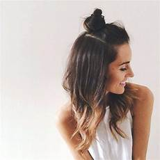 6 trendy half up half bun hairstyles for all