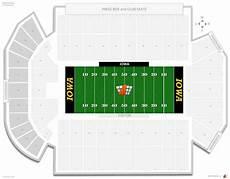 Many Rows Kinnick Stadium Seating Chart Kinnick Stadium Iowa Seating Guide Rateyourseats Com