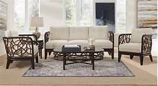 American Furniture Designs Panama American Rattan Trinidad Rattan 5 Piece Living Room Set