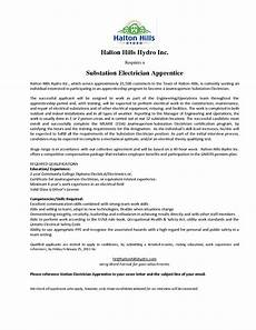 Electrician Apprentice Cover Letters Electrician Apprentice Cover Letter Cover Latter Sample