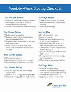To Do Lists For Moving Week By Week Moving Checklist Best Tips For Moving And