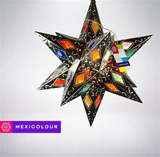 Moravian Tin Star Light Buy A Hand Crafted Stained Glass Moravian Star Punched