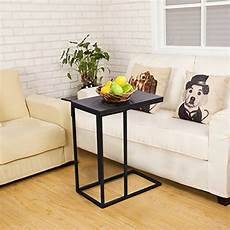 Sofa End Tables 3d Image by Tangkula Coffee Tray Sofa Side End Table Ottoman
