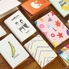 School Planner Cover Ideas A5a6 Cartoon Kawaii Leather Cover Binder Planners Diario