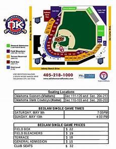 Okc Redhawks Stadium Seating Chart Bedlam Seating Chart Oklahoma City Dodgers Ballpark