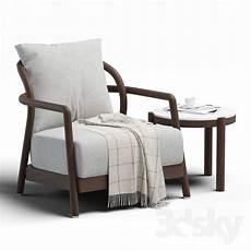 Arm Rest Table For Sofa 3d Image by 3d Models Arm Chair Alison Flexform Furniture