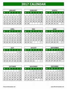 Open Office Schedule Template 2017 Calendar Template Open Office Templates