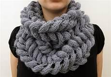 3 rabbits patterns scarf cowl knitting pattern