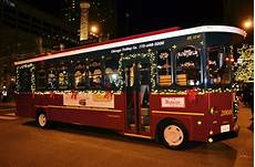 Chicago Lights Trolley Chicago Trolley Holiday Lights Tour Chicago Attractions