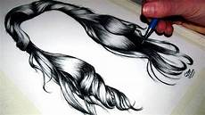 hair drawing how to draw realistic hair