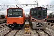 Jr西日本 大阪環状線201系を引退へ オレンジ色 は6月7日最終運行 トラベル Watch