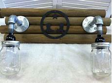 Country Bathroom Light Fixtures Details About Handmade Mason Jar Light Lighting Bathroom