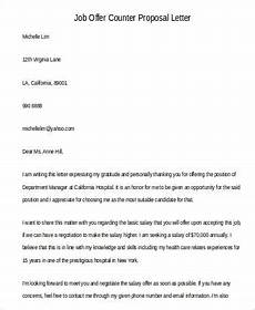Job Offer Counter Proposal Letter Sample Free 46 Proposal Letter Examples In Pdf Ms Word Pages