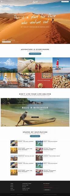 Adventure Web Design A Different Kind Of Adventure Travel Design Travel