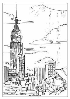 coloring pages new york city coloring pages