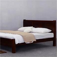 rustic mediterranean solid wood modern style bed frame w