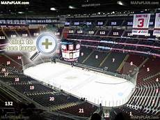 Prudential Center Interactive Seating Chart Prudential Center Newark Arena Seat And Row Numbers